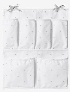 Housse de rangement murale Blanc / etoiles - vertbaudet enfant