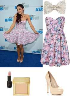 """Ariana Grande Style"" by blondethinking ❤ liked on Polyvore"
