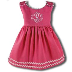 Cute sleeveless pink dress. :)