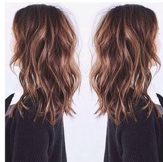 Colour , length & messy curls !