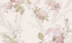 Tapet vinil roz crem floral 1204 Cristina Masi Carlotta Floral, Collection, Design, Christians, Flowers, Flower