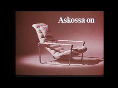 Askon puusepät osaavat. Vanha Askon tv-mainos 60 - 75 luvulta.