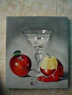 Cuadros Bodegon De Frutas Al Oleo