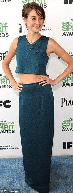 Shailene Woodley | Pretty with her short hair. #youresopretty