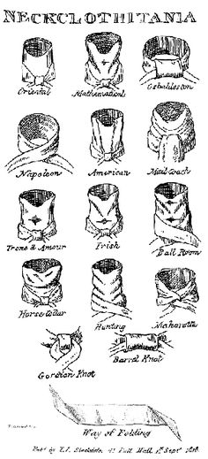 The Jane Austen Centre in Bath is a wonderful site with so much information. I really like that they cover men's fashion as well as the women's. This showcase of cravats is fascinating. Can you imagine taking up to an hour to tie a neckcloth?