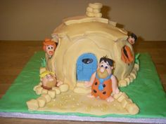 Flintstones - inspired by Debbie Brown