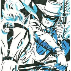 The Lone Ranger drawn by Darwyn Cooke is awesome. I'd read this book.