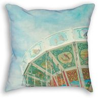 Merry Go Round Throw Pillow Merry, Throw Pillows, Prints, Cushions, Decorative Pillows, Decor Pillows, Pillows, Scatter Cushions