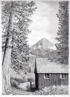 pencil drawing © Jana Botkin