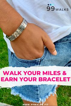 Join the 99 Walks virtual walking challenge, walk your miles and earn your bracelet. 99 Walks will keep you motivated with a tracking app, an extensive library of walking classes, daily inspiration and a supportive community to keep you going. Health And Wellness, Health Tips, Health Fitness, Fitness Goals, Fitness Tips, Walking Club, Walking Challenge, Daily Burn, Bust A Move
