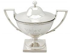 Georgian Silver Tureen | Antique Silverware by James Stamp