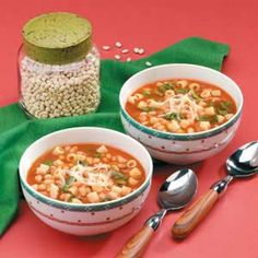 Spinach Bean Soup
