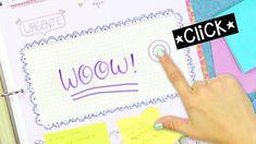 ORGANIZADOR TOUCH DIY Cuadernos y Carpeta - Regreso a Clases   ✄ Craftin...