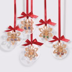 Ornament CZ Hoop Earrings. Get decked out in glittering hoops with rhinestone accents. Comes in a packaged ornament.