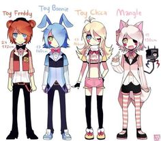 Mangle's 15 years old! Just like me!~ (≧∇≦)