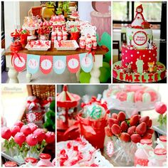 Little Red Riding Hood Woodland Party Planning Ideas Supplies Idea Forest Party, Woodland Party, Red Riding Hood Party, Little Red Ridding Hood, Bar A Bonbon, Red Party, Childrens Party, 2nd Birthday Parties, Party Planning