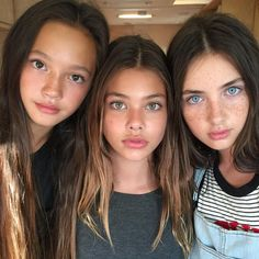 Laneya Grace and Lilly Kruk And Lily Chee