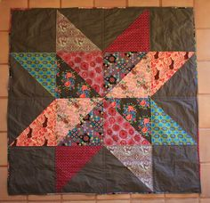 Sew long, Cowgirl!: My Giant Vintage Star Quilt