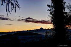 Sunset over Monviso