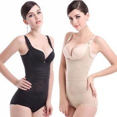77193955fb Women Sexy Shapers Slimming Bodysuits Hot body Waist Trainer Tummy Control  Underwear Shapewear Firmer Postpartum Recovery