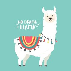 Find Cute cartoon llama vector design with No prob llama motivational quote Stock Vectors and millions of other royalty-free stock photos, illustrations, and vectors in the Shutterstock collection. Thousands of new, high-quality images added every day. Images Lama, Llama Images, Llama Pictures, Cartoon Llama, Cartoon Pics, Cute Cartoon, Alpacas, Cute Alpaca, Llama Alpaca