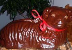 Easter Lamb, Caramel Apples, Pudding, Christmas Ornaments, Holiday Decor, Food, Custard Pudding, Christmas Jewelry, Essen
