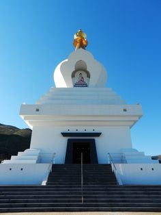 The Great Stupa, Western World, Travel Magazines, Drupal, Andalusia, Travel Information, Spain Travel, Pilgrimage, Benalmadena Spain