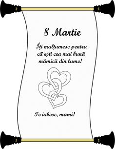 8 Martie, I 8, Mothers Day Crafts, 8th Of March, Instagram Quotes, After School, Paper Cutting, Diy And Crafts, Acting