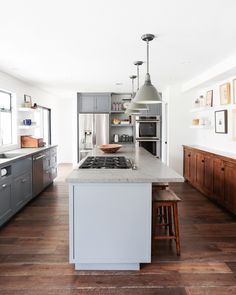 Kitchen BEFORE  // AFTER — Thea Home, Inc.