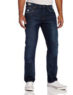 7 For All Mankind Men's The Straight Modern Straight Leg Jean in Phoenix Lake $67.16