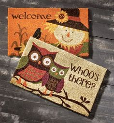 Whoo's checked out Fall Decor at Shopko.com?