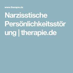 Narzisstische Persönlichkeitsstörung   therapie.de