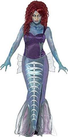 Smiffys Womens Zombie Mermaid Multi Large -- To view further for this item, visit the image link.