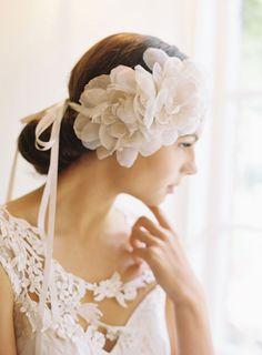 wedding hair accessories by Erica Elizabeth. photo by caroline tran.