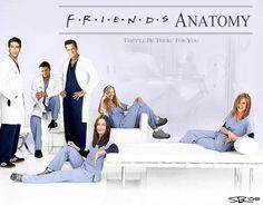 hate grey's anatomy...but might watch it if they were the cast! :P