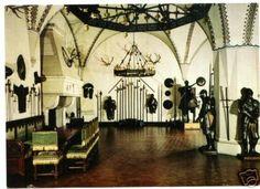 From Postcard. The Rittersaal of Schloss Braunfels