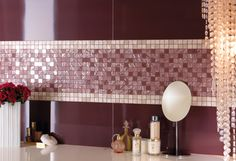 Fantastiche immagini su mosaici da rivestimento per il bagno