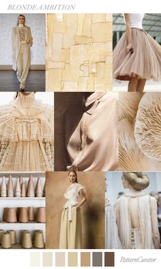 BLONDE AMBITION by PatternCurator for FashionVignette