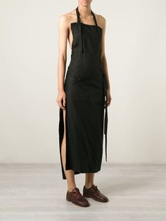 Yohji Yamamoto Apron Dress - Hostem - Farfetch.com
