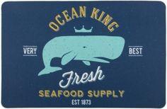 Ocean King Whale Floor Mat