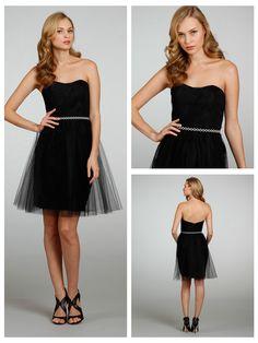 Stapless A-line Short Tulle Bridesmaid Dress with Draped Bodice http://www.ckdress.com/stapless-aline-short-tulle-bridesmaid-dress-  with-draped-bodice-p-1019.html  #wedding #dresses #dress #lightindream #lightindreaming #wed #clothing   #gown #weddingdresses #dressesonline #dressonline #bride