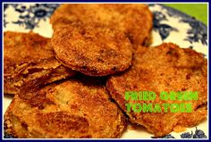 Sweet Tea and Cornbread: Fried Green Tomatoes...a Southern Delicacy!