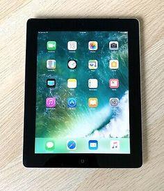 Unlocked Apple iPad 3 3rd Gen WiFi Black or White16GB 32GB 64GB Tablet