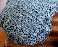 Little Scraps of Happiness: Crochet Baby Blanket Pattern
