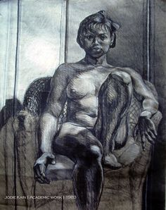 Jodie Kain | Academic work 1983 | charcoal and chalk on toned paper Toned Paper, Art And Architecture, Charcoal, Statue, Drawings, Artwork, Painting, Work Of Art, Auguste Rodin Artwork