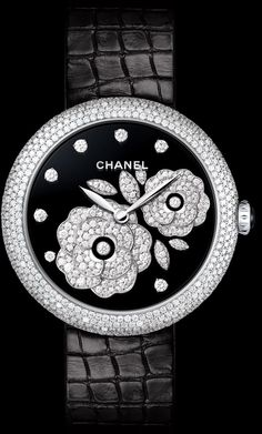 Jardin de Camélia Diamond Watch from Chanel