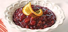 Cranberry-Orange Relish With Toasted Pecans