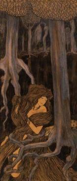Çacontala of Shakuntala, Jan Toorop.