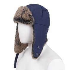 WOOLRICH Trapper Hat Size M Rabbit Fur Details Teflon Fabric Protector  Padded  fashion  clothing  shoes  accessories  mensaccessories  hats (ebay  link) caeefa390c5d