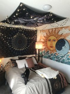 small bedroom ideas that are look stylishly & space saving 22 - Wohnen - Bedroom Decor Dream Rooms, Dream Bedroom, Bedroom Wall, Diy Bedroom, Bed Room, Budget Bedroom, Modern Bedroom, Yellow Bedroom Paint, Chalkboard Wall Bedroom